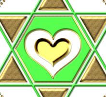 Anahata Heart Chakra Centre Of Love & Compassion Sticker