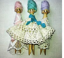 Lacey ladies by opheliabutton