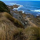 Headland  Cape Lip trap  Victoria by john  Lenagan