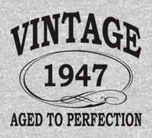 vintage 1947 aged to perfection by diannasdesign