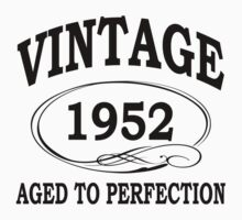vintage 1952 aged to perfection by diannasdesign