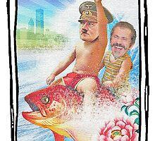Lore of Evil - Hitler & Mel Gibson by JoelCortez