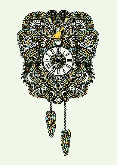 Cuckoo Clock Nest by Corinna Djaferis