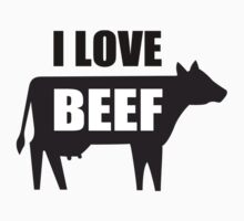 I Love Beef by Bethany-Bailey