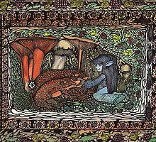 Creatures, Mushrooms & Toads by darkallegiance6