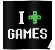 I heart Games Poster