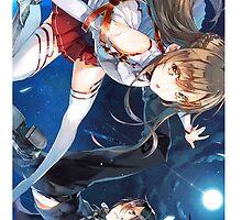 Sword Art Online - Kirito and Asuna by hardrada