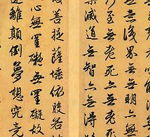 Chinese Buddhist Heart Sutra by Godfoot808