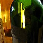 Colorful Wine Bottles by Gilda Axelrod