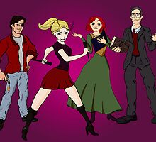 Disney BtVS Scoobies by Nana Leonti