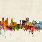Buffalo New York Skyline Cityscape by ArtPrints