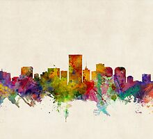 Richmond Virginia Skyline Cityscape by ArtPrints