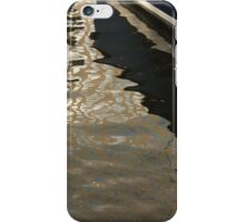 Silky Zigzags and Swirls - a Waterfront Abstract iPhone Case/Skin