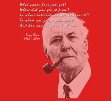 Tony Benn by LetThemEatArt