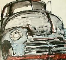 old truck ink by donnamalone