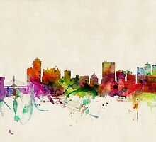 Winnipeg Canada Skyline Cityscape by ArtPrints
