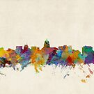Madison Wisconsin Skyline Cityscape by ArtPrints