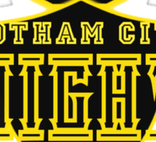 The Gotham City Knights Sticker