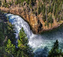Upper Yellowstone Falls by Charles Kosina