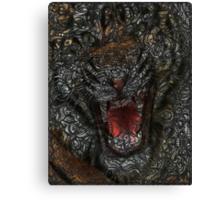 Facepage - Tiger Poster (color) Canvas Print