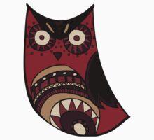Deco Owl - Edgar OWLen Poe by Hyululu