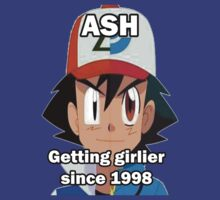 Ash getting Girlier by domostew