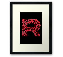 Rocketmon (Lunarscape) Framed Print