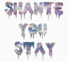 """Shante You Stay"" Piscina Print  by Jada Sullivan"