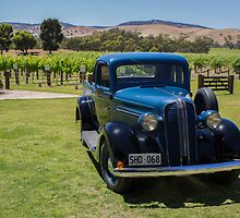 Vintage Wine Vintage Vehicles by Melissa Husband