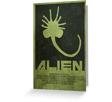 Nostromo - Alien Poster Greeting Card