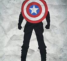 Freedom - Captian America: The Winter Soldier Poster by edwardjmoran