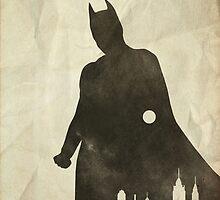 Hero - The Dark Knight Poster by edwardjmoran