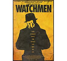 You Don't Seem to Understand - Watchmen Poster Photographic Print