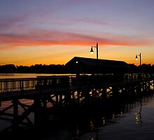 Sunset in the bay by JVanPhotography