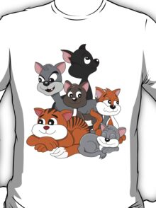 Cartoon cats T-Shirt