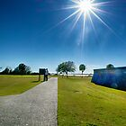 Looking into the Sun at Fort Moultrie by imagetj