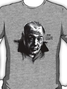 A don with Shorts - the Sopranos T-Shirt