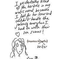 Hopeless Writer  by CARDSFORWRITERS