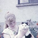 Long Ago - 1 - Josie & Her Cat by Francis Drake