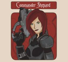 Mass Effect 3 Commander Shepherd by shahidk4u