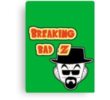 Crossover Breaking bad - Dragonball. Krillin Canvas Print