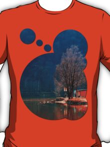 Gone fishing | waterscape photography T-Shirt