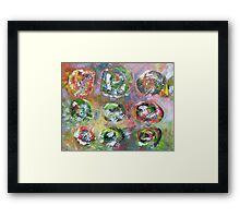Abstract Expressionism 8 Framed Print