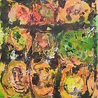 Abstract Expressionism 9 by Bea Roberts