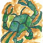 Blue Crab by SharonAHenson