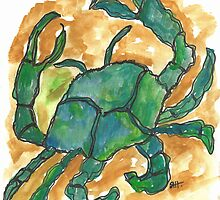 Blue Crab by SharonAHenson