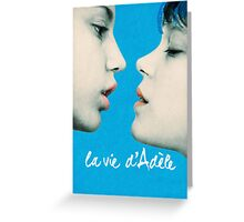 Blue is the Warmest Color poster Greeting Card