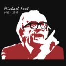 Michael Foot (with Black Specs) by LetThemEatArt