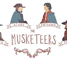 The Musketeers by Jemima Williams