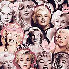 Marilyn Monroe Collage by bigelowed